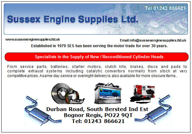 Sussex Engine Supplies